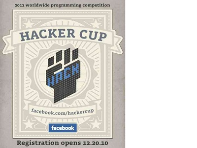 La Hacker Cup 2011 de Facebook llega a la final