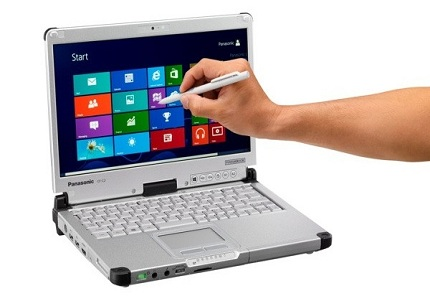 Panasonic Toughbook CF-C2, híbrido con Windows 8