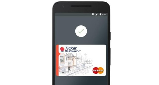 Ticket Restaurant se estrena en Android Pay